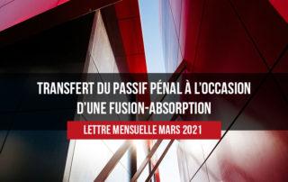 Gasbaoui Avocats - Newsletter Mars 2021
