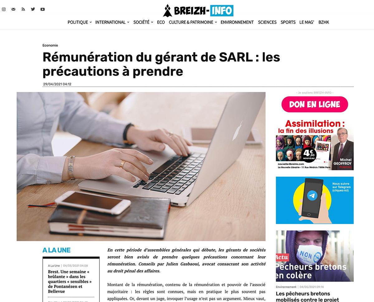 Gasbaoui Avocats - Breizh-Infos