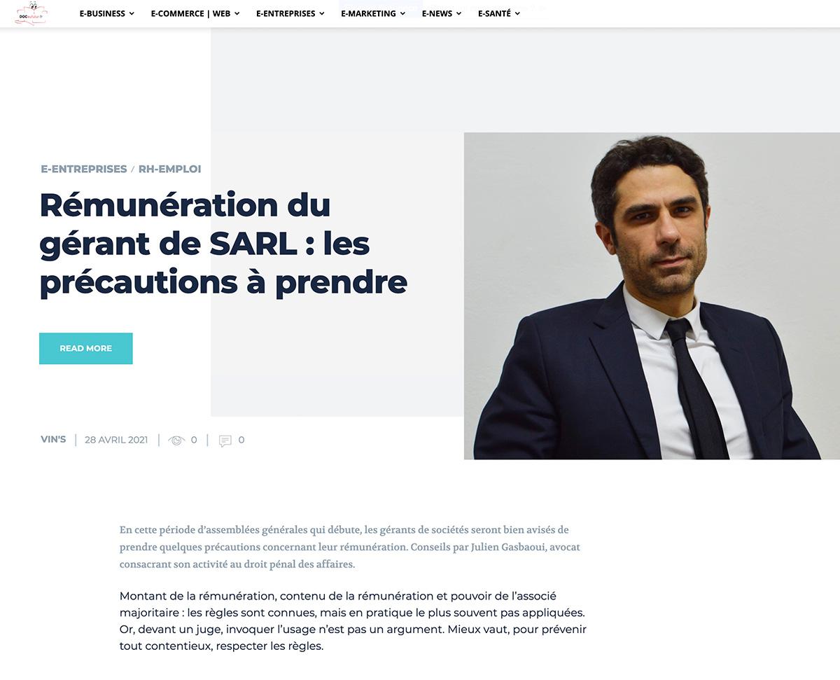 Gasbaoui Avocats - Docaufutur.com